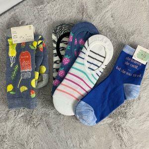 (5/$25) NEW Target Sock Bundle of 5